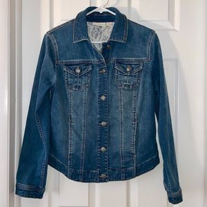 CHICOS Denim Jacket 0